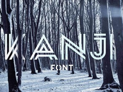 Kanji - Free Asian Style Font