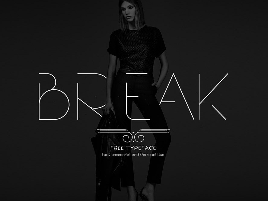 Break Free Fashion Font typography typeface free fonts free font freebies freebie fonts font family font design font awesome font