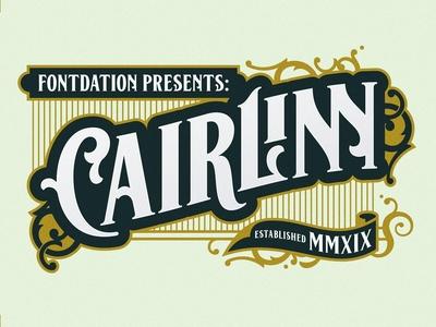 Cairlinn Free Vintage Font