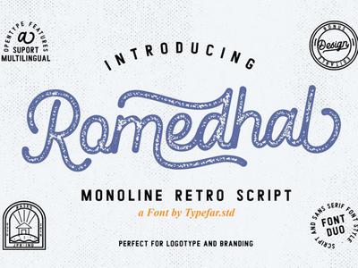 Romedhal Free Script Font