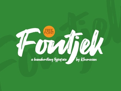 Fontjek - Free Script Font