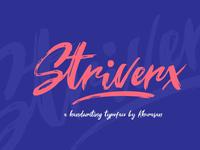 Stiverx - Free Brush Script Font