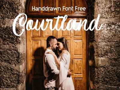 Courtland Handdrawn Font Free