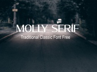 Molly Serif traditional Classic Font Free