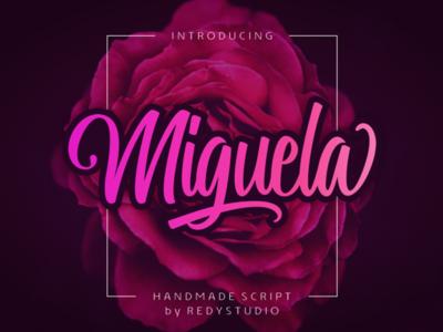 Miguela Free Script Font