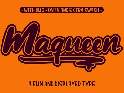 Maqueen Free Display Font