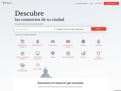 Comercio de Proximidad   Botiguea   botiguea com ahensycom uxdesign web development