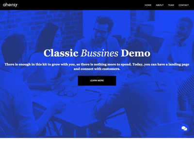 classic business ahensycom uxdesign