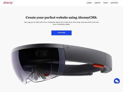 product showcase ahensycom uxdesign