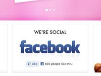 We're social...