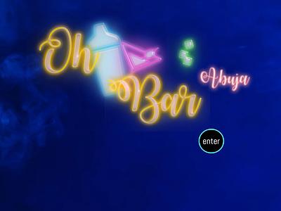 Website/Logo - OhBar icon logo website nigeria bar web design design website design website concept