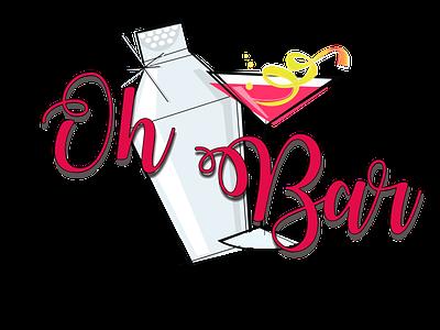 Oh Bar Logo icon website design logo web design design bar