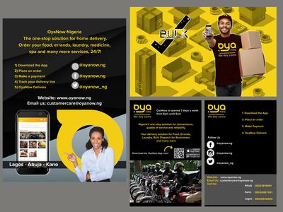 Social Media/App - Oyanow Nigeria Delivery Services