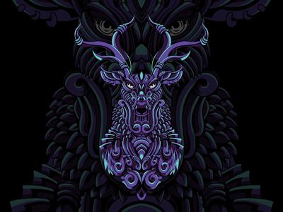 Mythical Deer