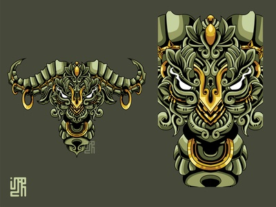 Mythical bull