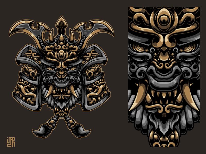 Ornamental Samurai Mask