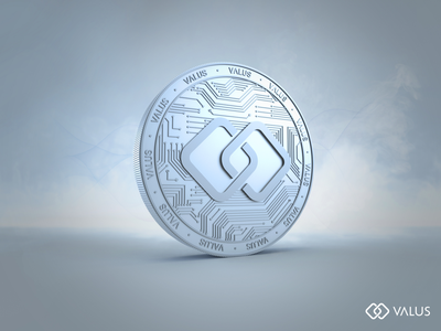 3D Design // VALUS render token crypto crypto currency cryptocurrency coin clean c4d photoshop 3d design arnold render arnoldrender cinema 4d cinema4d 3d artist 3d