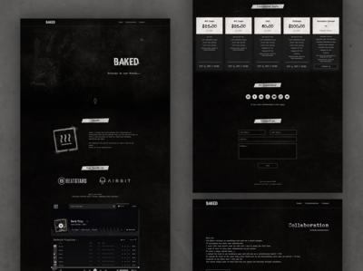Website Design // BAKED