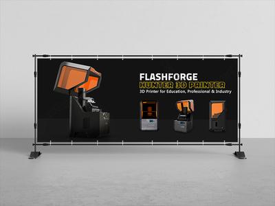 Banner Flashforge Design