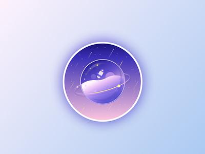 daily ui 005 gradient graphic sketch icon stars figma dailyui vector illustration app web ux ui