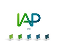 IAP logo/lettermark and color palette