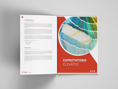 Services Brochure illustrator indesign photoshop profile design company brochure print designer company profile print design graphic design brochure layout brochure design
