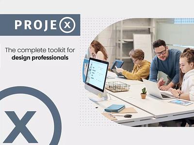 Video Animation   Projex Platform Promo Video product promotion interaction animation platform digital product motion design product design motion graphics motion video