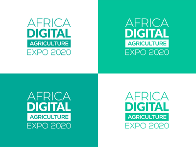 Africa Digital AG brand identity design typography conference logo logo design digital design logo