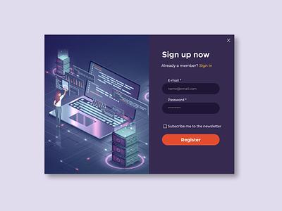 Sign up Form dailyuichallenge uidaily ui ux user interface design web ux design ui design