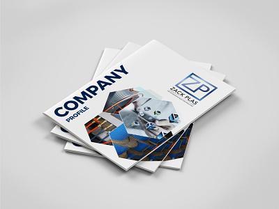 ZP Profile Design technical brochure company profile designer brochure marketing materials print designer print design creativity photoshop indesign brochure design company profile graphic design