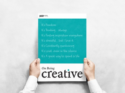 On Being Creative #1