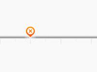 Orange Slider Scale
