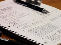 Submit Form Wireframe