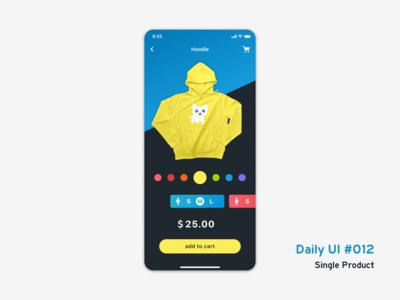 Daily UI #012