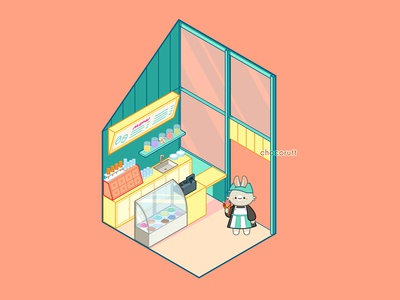 Bun Ice Cream Shop
