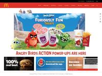 Mcdonalds - Website Redesign
