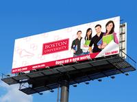 Boston University Billboard