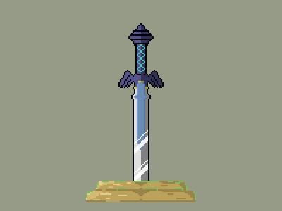 Master Sword Pixel