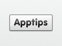 Apptips new logo