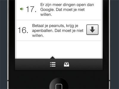 Podcast app navigationbar podcast iphone app