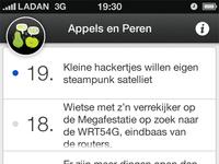 Appels en Peren podcast app