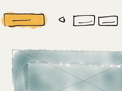 Wireframing with the Paper app paper wireframe sketch