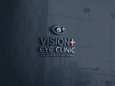 medical logo (Vision  eye clinic) logo