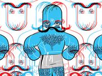 Man-Man Blue 01