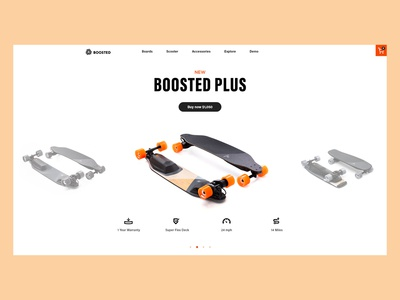 Boosted Board Website