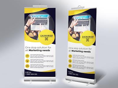 Standee Design branding agency branding design branding standee design standee
