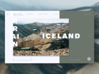 Design Challenge #04, Coolors of Travel Landing Page