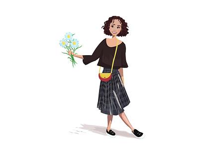 girl by Gyumri design vector logo illustration персонаж characterdesign дизайн персонажи иллюстрация брендинг