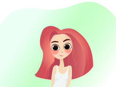 Tiny smile брендинг плоский персонажи дизайн персонажа дизайн иллюстрация персонаж