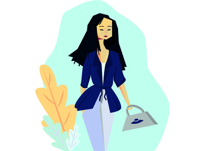Mari вектор щ дизайн плоский логотип иллюстрация персонаж персонажи дизайн персонажа брендинг